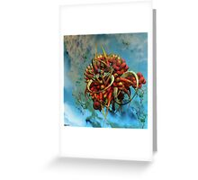 Extraterrestrial species file Q1450938j-1 Greeting Card