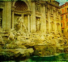 Trevi Fountain, Rome by David's Photoshop