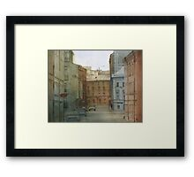 St. Petersburg' street Framed Print