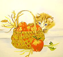 Apple Basket by Ann Warrenton