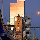 Flinders Station, Melbourne by Stuart Robertson Reynolds