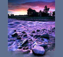 River Run Dawn Dawn Candy by Ken Wright
