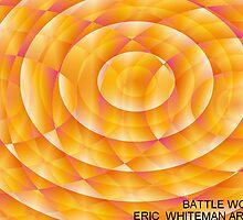 ( BATTLE  WOLF )  ERIC WHITEMAN ART , by eric  whiteman