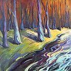 Blue Forest by Konnie Kim