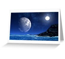 Distant Sun-Pele's Heaven Greeting Card