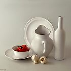STILL LIFE IN WHITE by RakeshSyal