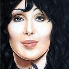 Cher Color Pencil @ www.KeithMcDowellArtist.com by © Keith McDowell, Artist