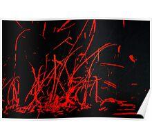 Flashing Red Poster
