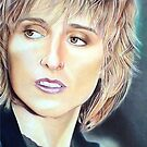 Melissa Ethridge Color Pencil @ www.KeithMcDowellArtist.com by  Keith McDowell, Artist