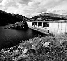 Guthega Dam by David Sundstrom