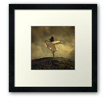 The Tulip Dance Framed Print
