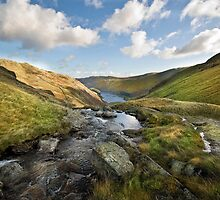 Small Water Beck- Haweswater by eddiej