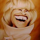 Celia Cruz Caricature by SolteroArt