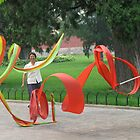 Ribbon Twirlers by snefne