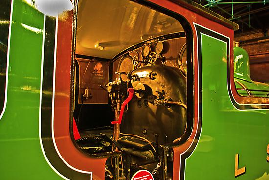 Inside The Cab #2 (Steam Train) by Trevor Kersley