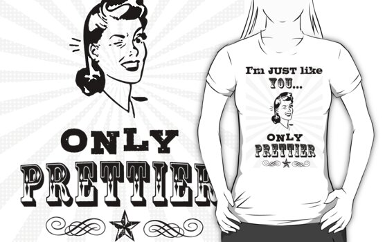 Just like you...only prettier! by redcattex