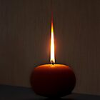 Flaming Orange by Richard G Witham