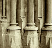Church Pillars by Orla Cahill Photography