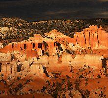Egyptian Ruins in Bryce Canyon by Olga Zvereva