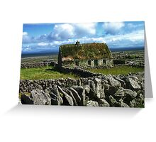 Old Cottage Greeting Card