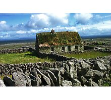 Old Cottage Photographic Print