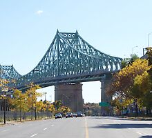 Jacques-Cartier Bridge, Montreal, Canada by Ralph Angelillo