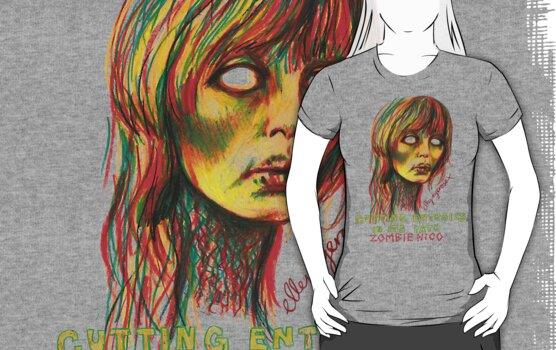 Zombie Nico by ellejayerose