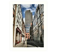 London old and new Art Print