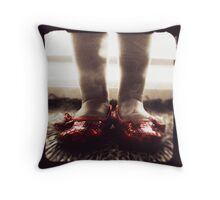 Ruby Reds Throw Pillow