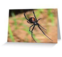 A  Widow     ( Black Widow Series ) Greeting Card