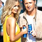 Michael Clarke & Lara Bingle by David Petranker