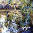 Sunday Creek Reflections by Lynda Robinson