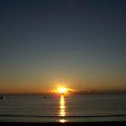 Sunrise Over The Med. by Richard Nelson