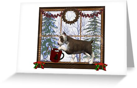 December Puppy .. a christmas tale by LoneAngel