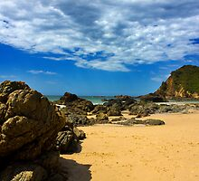 Nobby's Beach by Luke and Katie Thurlby