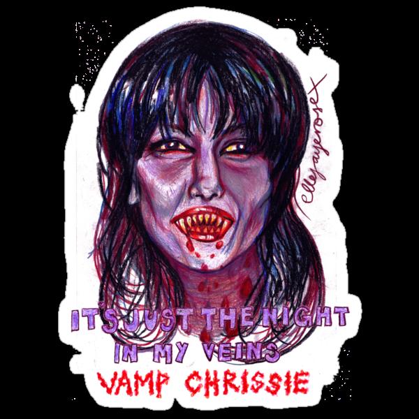Vamp Chrissie by ellejayerose