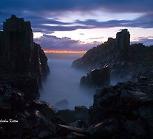 Smoke on the Water, Bombo, NSW by Malcolm Katon