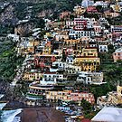 Cliff-side Accomodation - Positano by Michael Tuni