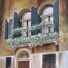 Double Venetian Balcony by Graham Clark