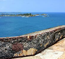 Entrance to San Juan Bay by Haydee  Yordan