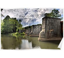 Erie Canal Aqueduct  Poster