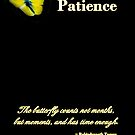 Patience by Greeting Cards by Tracy DeVore