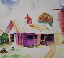 The Old Barn by AnitaJean