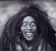 Bob Marley Caricature by SolteroArt