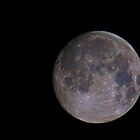 Tinted moon by jskouros