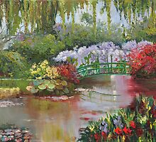 Giverny - Monet's Garden by Joy Skinner