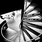 Spiral Staircase at Lincoln University  by Adam Dyson