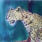 spotted leopard by jikpe