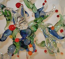 Glass art at Canberra glassworks by Vanessa k
