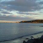 Sunset on Granite Island by Kathie  Thomson